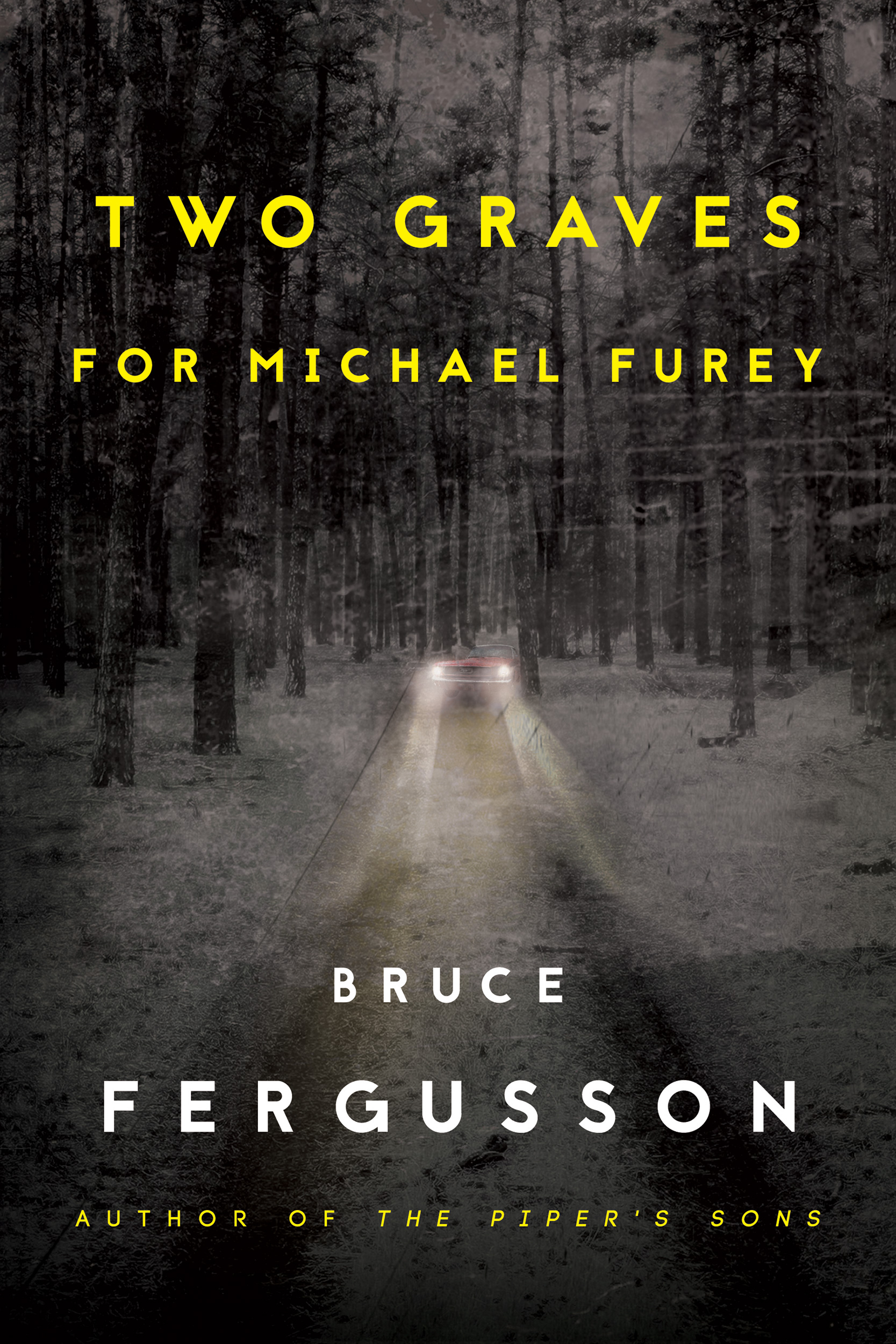 Cover for Two Graves for Michael Furey by Bruce Fergusson